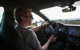 Ricky Lane driving the Seat Leon Cupra R