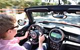 Driving the Mini JCW Convertible