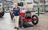 Roberto Giolito - head of heritage at FCA heritage