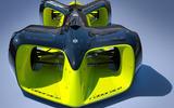Autonomous Roborace vehicle