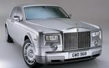 Rolls-Royce Phantom VIII silver
