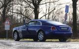 Rolls-Royce Wraith facelift spy shots