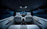 Rolls Royce - interior view