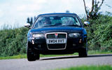 Rover 75 second hand buy - front