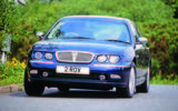 Rover 75 cornering - front