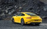 Porsche 911 C4S rear