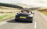 Porsche 718 Boxster rear