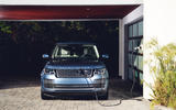 Range Rover P400e charging - front