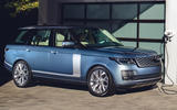 Range Rover P400e charging - side