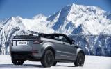Range Rover Evoque Convertible rear