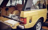 1978 two-door Range Rover boot