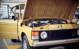 1978 two-door Range Rover bonnet