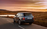 Range Rover p400e rear dynamic