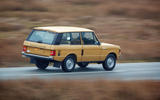 1978 two-door Range Rover rear