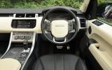 Range Rover Sport Autobiography Dynamic dashboard