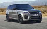 2021 Range Rover Sport Carbon Black Edition - front