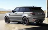 2021 Range Rover Sport Carbon Black Edition - rear