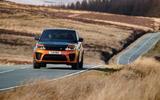 Range Rover Sport SVR front