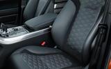 Range Rover Sport SVR sports seats