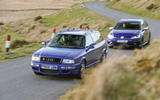 Audi RS2 Avant vs Volkswagen Golf R Estate - comparison