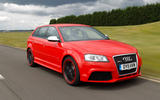 Audi RS3 front side