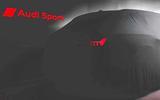 Audi RS6 Avant preview shot - rear