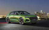 Audi RS Q8 2020 official reveal photos - LA front