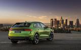 Audi RS Q8 2020 official reveal photos - LA rear