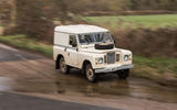 1979 BMW 320, 1964 Mini Cooper, 1984 Land Rover Series III