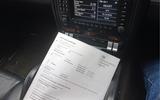 Porsche Cayenne MOT certificate