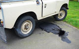 Ruppert's Land Rover Series 3 - leaking