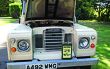 Land Rover Series 3 - bonnet up