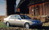 1997 W140 Mk3 Mercedes-Benz S-Class