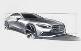 Mercedes-Benz S-Class sketch