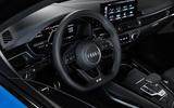 2019 Audi S4 press packet - steering wheel