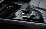 2019 Audi S4 press packet - gearstick