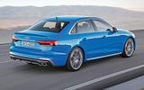2019 Audi S4 press packet - rear