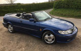 Saab 9 3 second hand front
