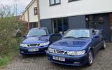 Saab 9 3 second hand pair