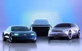 Hyundai Ioniq model family