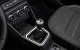 Dacia Sandero gearstick