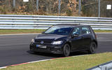2019 Volkswagen Golf Mk8: first pictures show new cabin tech