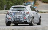 2019 Mercedes-AMG A45 'Predator' seen in production bodywork