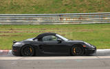 Porsche 718 Boxster Spyder: 911 GT3 flat six to power lighter varaint