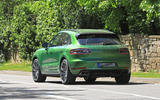 2018 Porsche Macan facelift: latest pictures show new front-end features