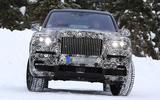 Rolls-Royce Cullinan tests with production bodywork