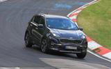 Kia Sportage facelift
