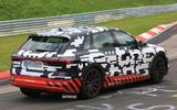 Electric Audi E-tron SUV