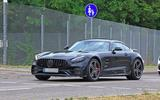 2019 Mercedes AMG GT spies front side
