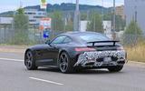 2019 Mercedes AMG GT spies rear side